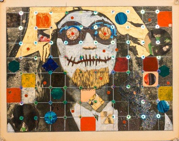 Memento Mori  dia de la muerte 2_ 11.25 x 14.25