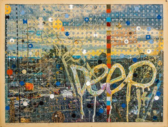 landscape Oakland trilogy 1  29 x 38